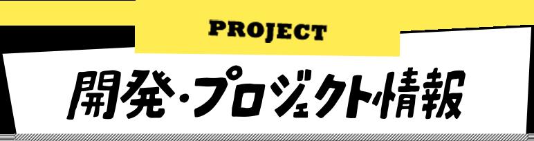 開発・プロジェクト情報